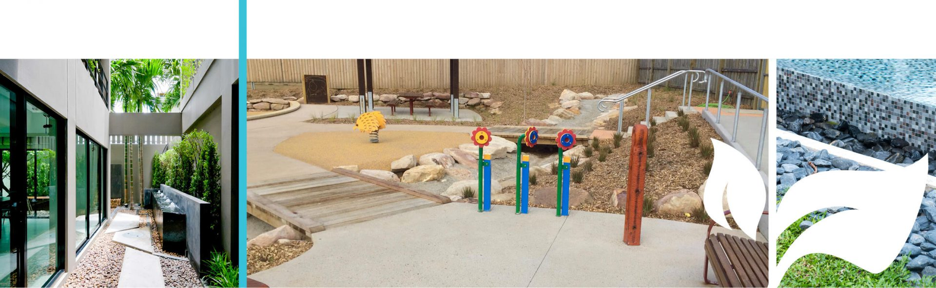 Outdoor play area for children